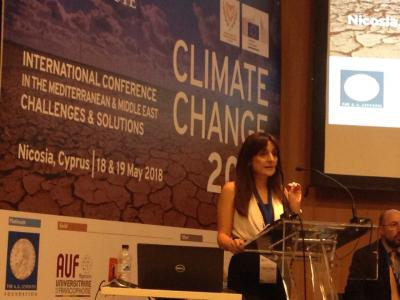 "Prof. Phoebe Koundouri chaired a session on ""Mitigation & Adaptation: New Initiatives"" at the International Conference ""Climate Change in the Mediterranean and the Middle East: Challenges and Solutions"""