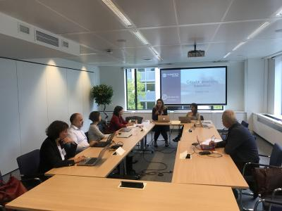 Executive meeting for the CE in S3 project, Brussels, Belgium