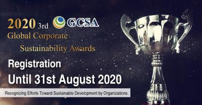 2020 The 3rd Global Corporate Sustainability Award