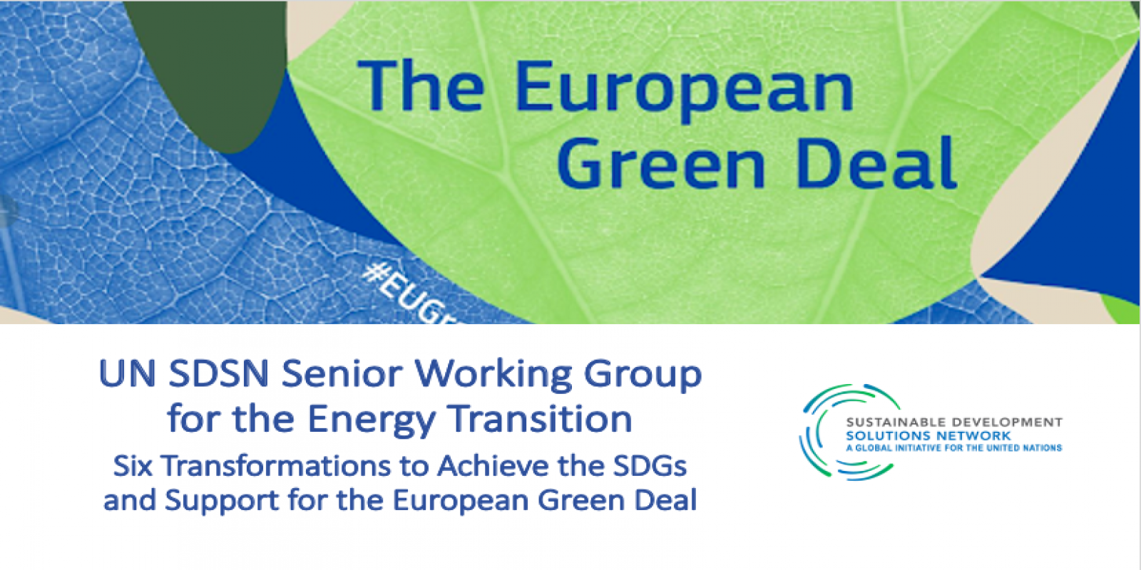 Working Group on energy transition