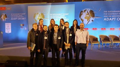 SDSN Greece Youth participates in the Sustainability Summit for Southeast Europe and the Mediterranean