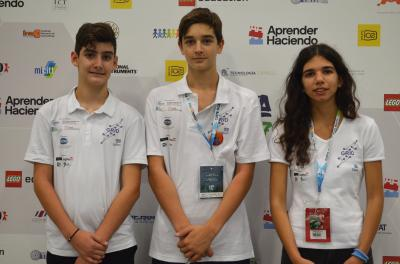 Greece's GRID seventh in Open Junior at the World Robot Olympiad